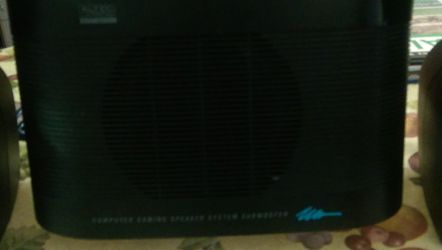 Altec Computer Speaker System With Bass Subwoofer for Sale in Cape Coral,  FL