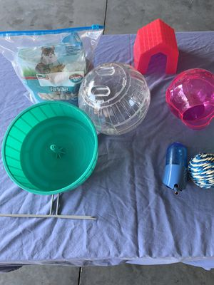 Hamster cage accessories for Sale in Lillington, NC