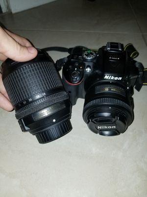 Nikon d5300 + 18-140mm lens for Sale in Orlando, FL