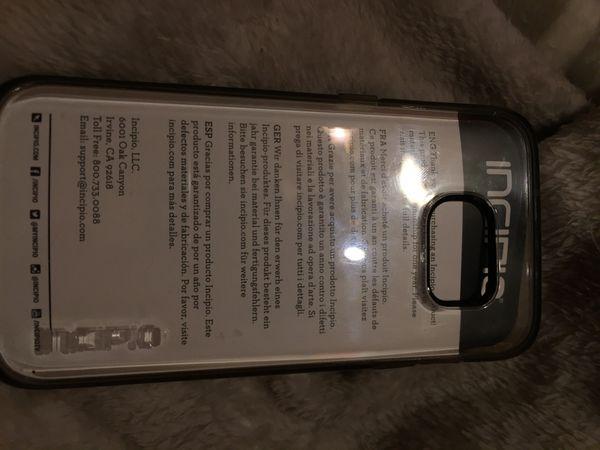 Samsung Galaxy S 7 new INCIPIO CLEAR CASE $8