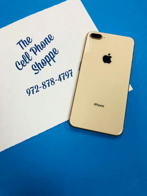 iPhone 8 Plus 64gb att tmobile metro cricket bring your sim ready to use today for Sale in Carrollton, TX