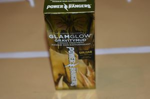NEW GlamGlow GravityMud Power Rangers Goldar Firming Treatment Peel-Off Face Mask for Sale in Tucson, AZ