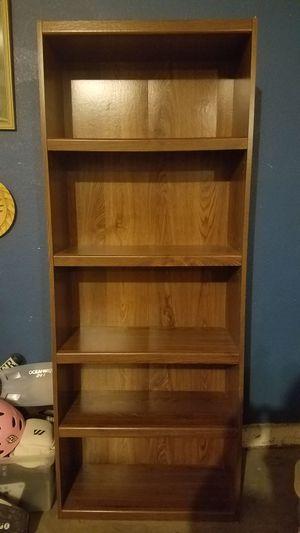 72x28x12 5 shelf bookcase for Sale in Henderson, NV