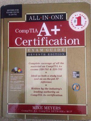Comp TIA A+ Certification Book for Sale in Manassas, VA