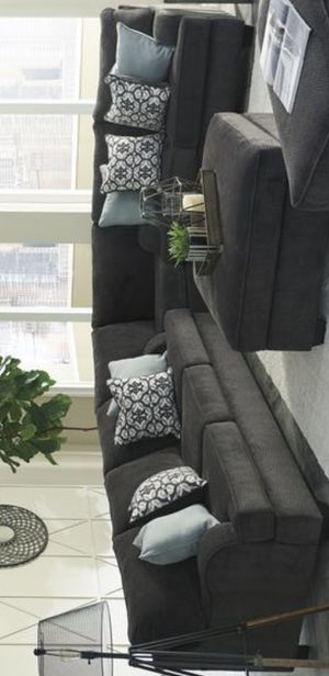 New Charenton Charcoal Sectional | 14101 Ashley for Sale in Houston, TX