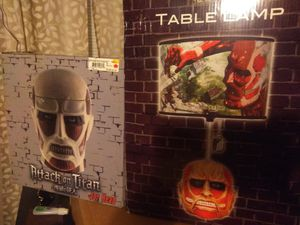 Attack on Titan Lamp and Cookie Jar for Sale in Saint Joseph, MO