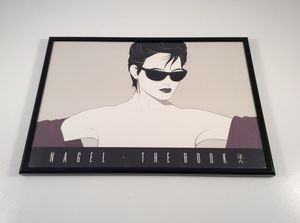 Patrick Nagel The Book Sunglasses Lady in Frame for Sale in Durham, NC