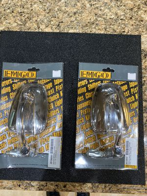 Universal Bar End Mirrors Motorcycle Emgo New 7/8 Chrome Cafe Racer Triumph for Sale in Simi Valley, CA