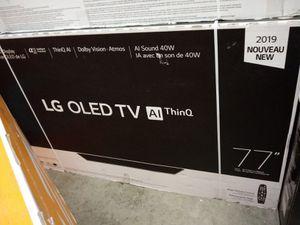 """77"""" oled 4k smart lg tv for Sale in Santa Ana, CA"""