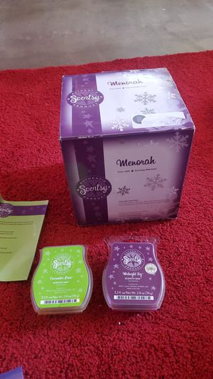 Scentsy Menorah warmer holiday collection for Sale in Anaheim, CA