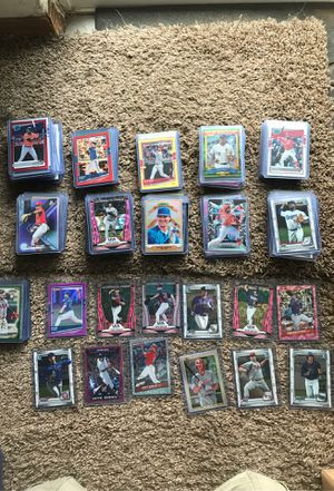 45 for the lot all newer baseball cards for Sale in Puyallup, WA
