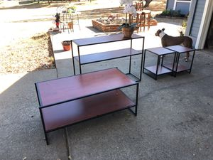 4 piece Coffee, Console, and side tables. for Sale in Placerville, CA