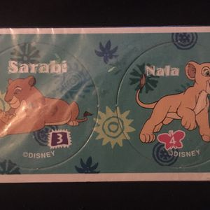Disney The Lion King Sarabi Nala Pogs Vintage Sealed for Sale in Fullerton, CA