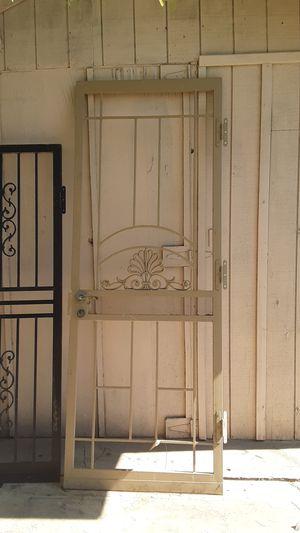 Used heavy duty security door for Sale in Glendale, AZ