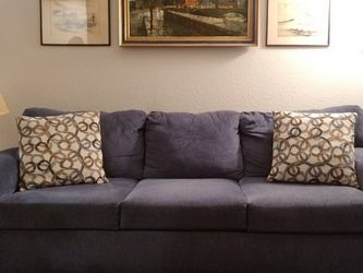 Blue Sofa for Sale in Orlando,  FL