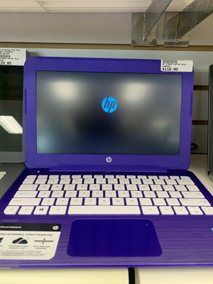 HP purple laptop w/Charger for Sale in Winston-Salem, NC