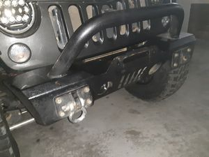Jeep jk front stubby bumper for Sale in Fontana, CA