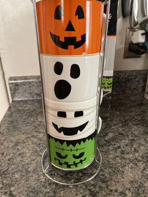 Halloween stackable coffee mugs for Sale in Wheat Ridge, CO