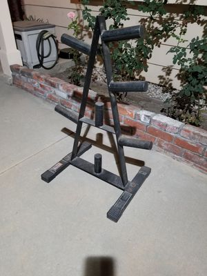 Olympic Weight Plate Storage Tree for Sale in Los Angeles, CA