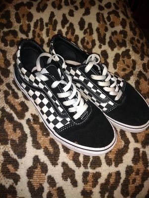 Vans black and white checkered for Sale in Portland, OR