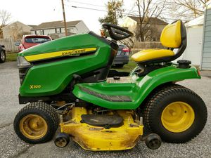 """John Deere X320 tractor wirh 48""""mower deck for Sale in Lutherville-Timonium, MD"""