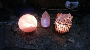 Himalayan salt lamp rock for Sale in Sarasota, FL