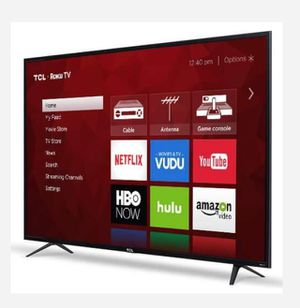 TCL 65in Class 4K (2160P) HDR refurbished Roku Smart LED TV (65S401) for Sale in Dallas, TX