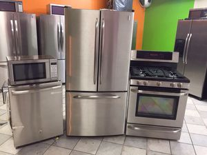 Stainless Steel Kitchen Set for Sale in Ithaca, NY