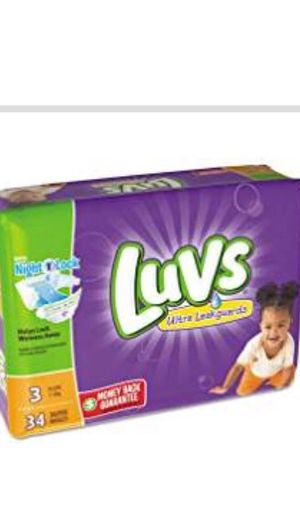 Luvs baby pampers for Sale in Virginia Beach, VA