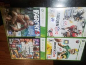 5 Xbox games **sorry for photos camera broken** for Sale in Columbus, OH