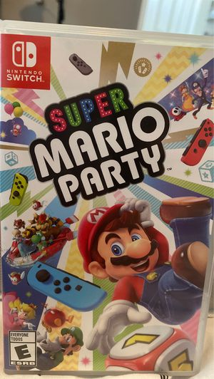 Super Mario Party Switch for Sale in Louisville, CO