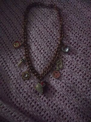 Juicy couture charm necklace used for Sale in Zephyrhills, FL