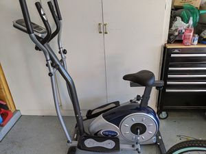 Body Champ 2 in 1 Cardio Dual Trainer/Elliptical Workout and Upright Exercise Bike for Sale in Glendale, AZ