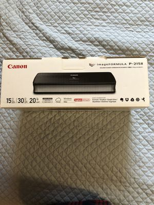 Canon Document Scanner for Sale in Buffalo Grove, IL