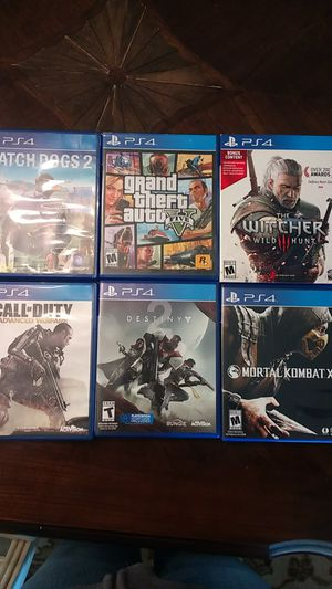 Ps4 Games- Separate,or Buy as a Lot and Save for Sale in Vancouver, WA