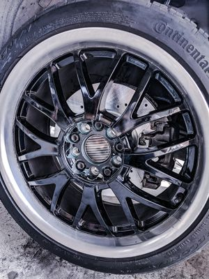 *TRADE ONLY* 5x120 & 5x114.3 Staggered TSW rims and tires for Sale in Saginaw, TX