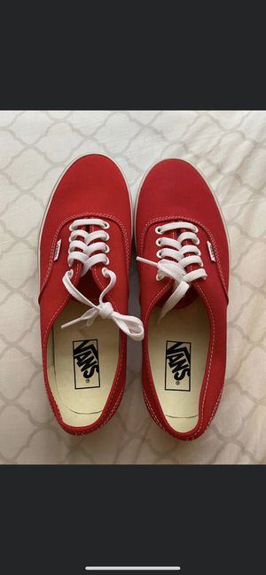 Brand New Red Vans for Sale in Lexington, KY