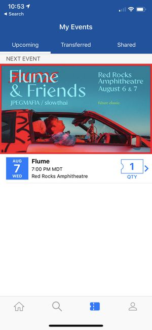 FLUME NIGHT 2 @ RED ROCKS for Sale in Lakewood, CO