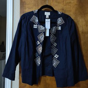 Chico's Embellished Jacket for Sale in Keller, TX