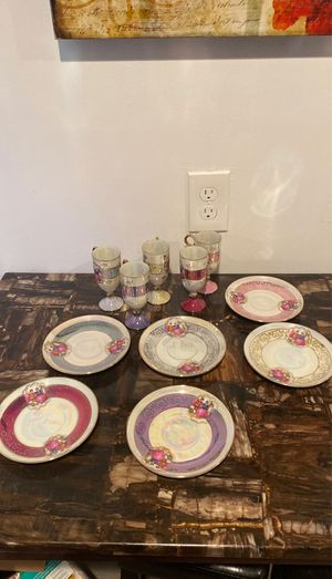 Antique China cups and plates for Sale in Monroe Township, NJ