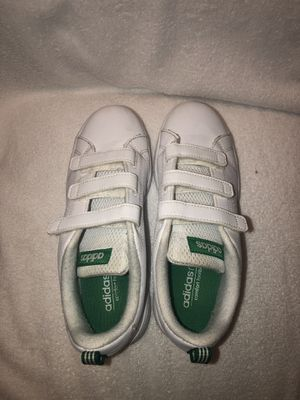 Kids Adidas Stan Smith Velcro Sneakers size 3 for Sale in Chicago, IL