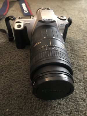 Canon Rebel 2000 EOS with 2 lenses and bag for Sale in Pittsburgh, PA
