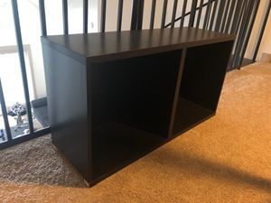 Great Condition Dark Wood TV Stand for Sale in Atlanta, GA