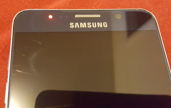 Samsung Galaxy Note 5 T-Mobile Cracked Screen