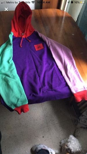 Multi colored hoodie sweater for Sale in Queens, NY