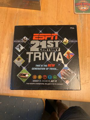 ESPN 21st Century Sports Trivia Board Game for Sale in Austin, TX