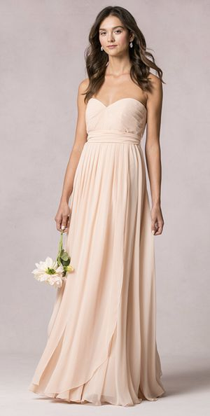 Bridesmaid / Formal CONVERTIBLE Dress in Blush LIKE NEW Size 8 for Sale in San Francisco, CA