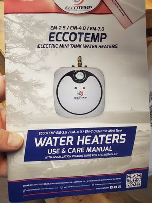 EccoTemp mini water Heater for Sale in Fresno, CA