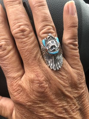 Sterling silver handmade Native American ring sz 7, never worn for Sale in Powhatan, VA