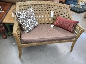 Patio Bench 😎 Another Time Around Furniture 2811 E. Bell Rd for Sale in Phoenix, AZ